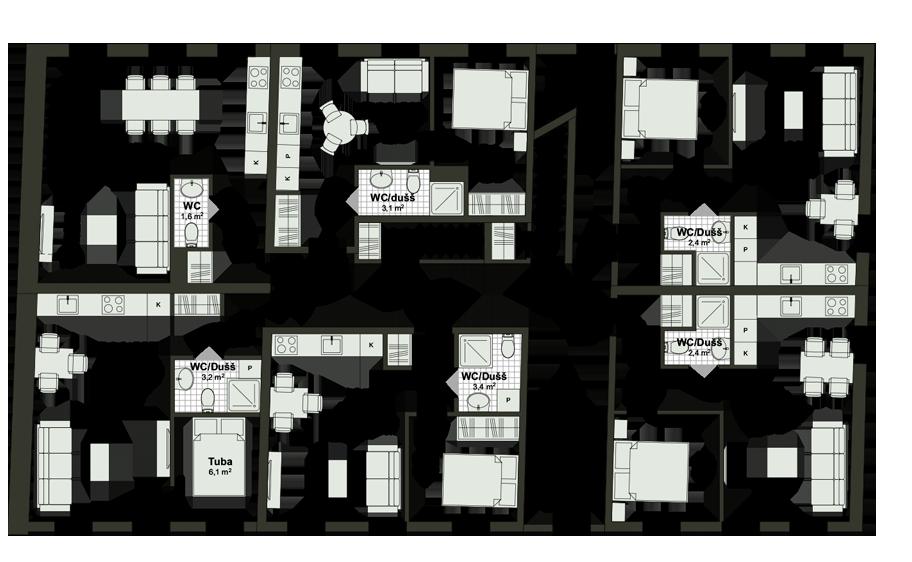 Kunderi 25 - Floor - 2