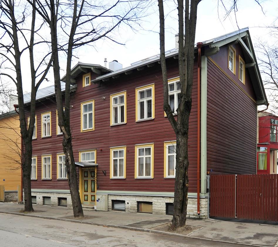 Ajalooline kodu Kalamaja miljöö- väärtuslikus piirkonnas